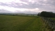 Patchwork of fields from a bit further on.